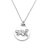 Raccoon Necklace (Curiosity)-D112SM - Kevin N Anna
