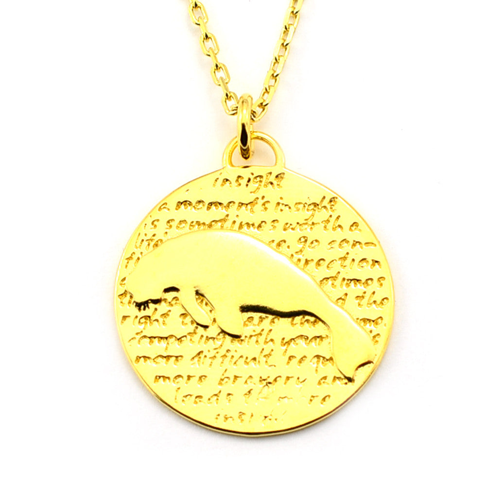 Manatee Necklace (Insight)-D113G - Kevin N Anna