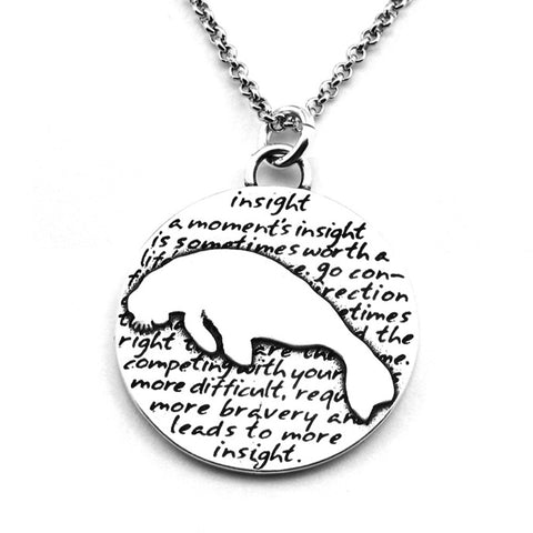 Dinosaur Necklace (Believe)-D95