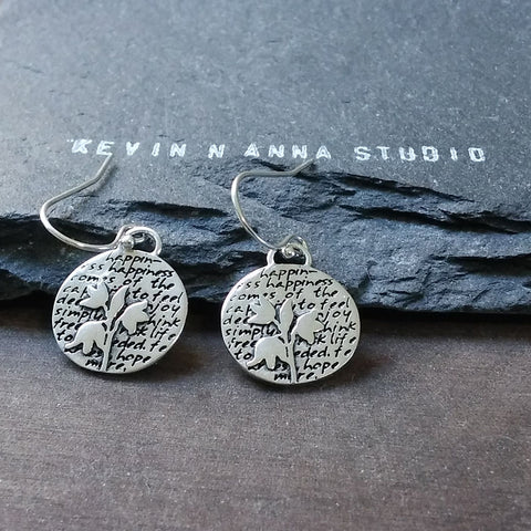 Turtle Earrings (Eternity)-D100E