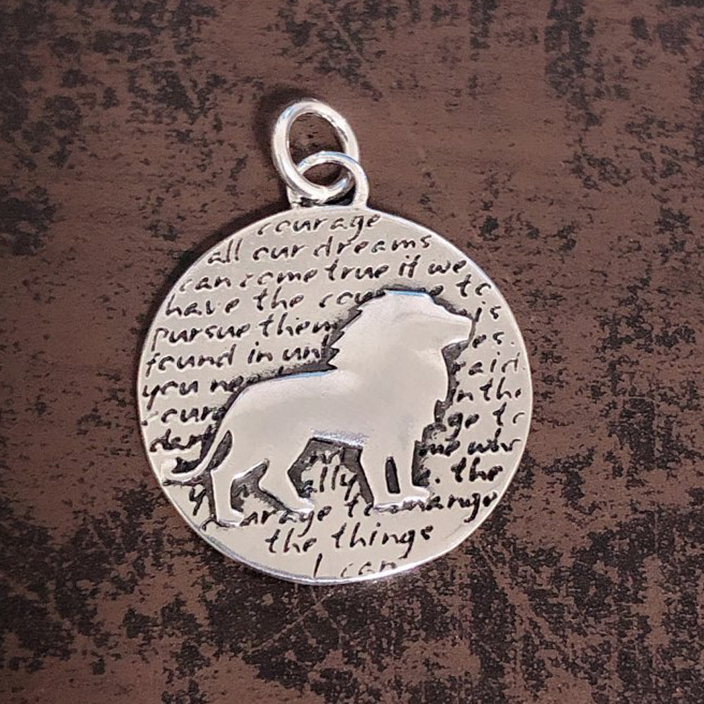 {SPECIAL ORDER} Lion Pendant (Courage) - Kevin N Anna
