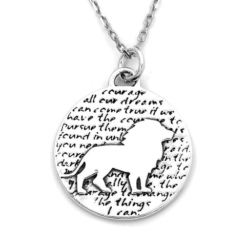 Abundance Braille Necklace-B04