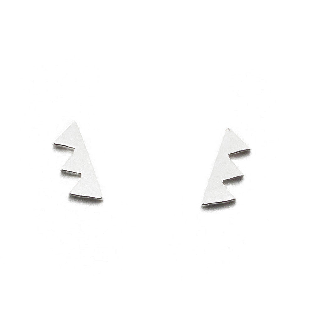Mountain Earrings-FT58 - Kevin N Anna