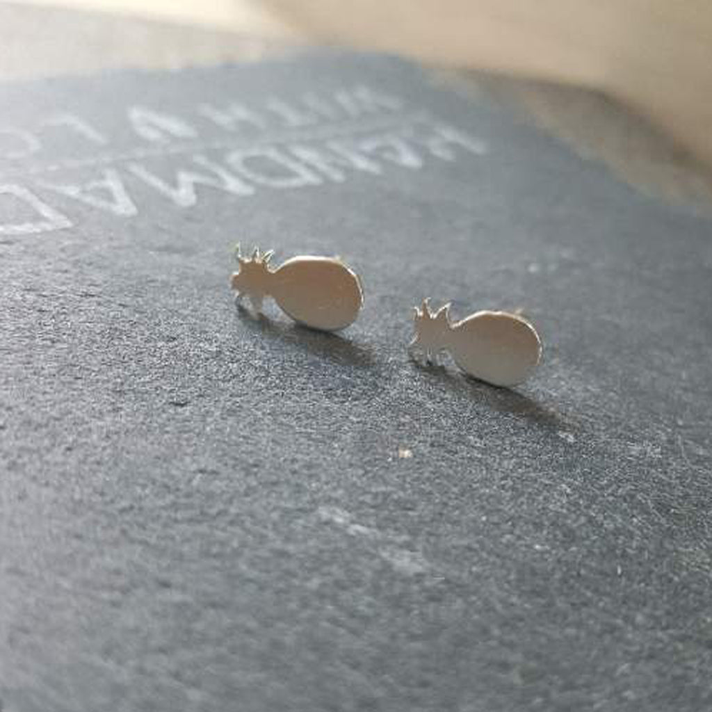Pineapple Earrings-FT63 - Kevin N Anna