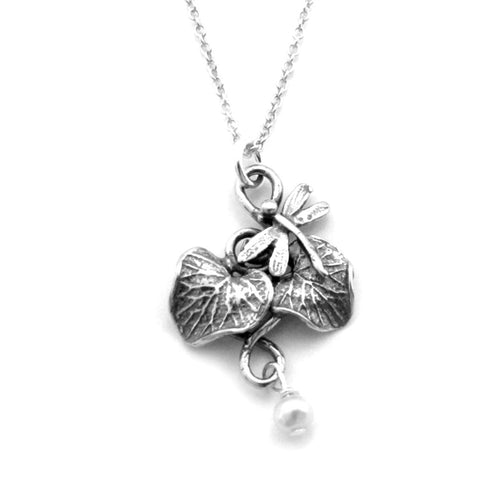 Maple leaf necklace-C94