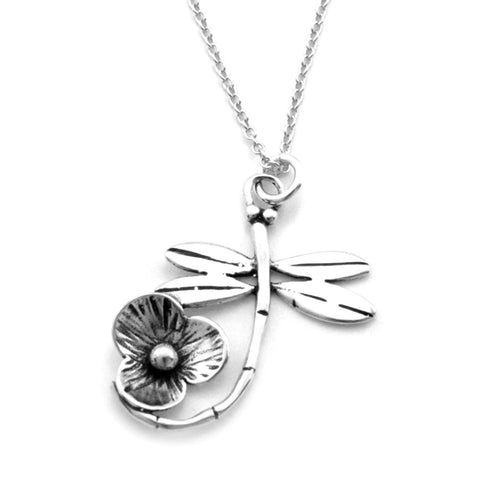 Dragonfly Necklace-B10S