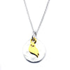 Owl Necklace-M07 - Kevin N Anna