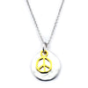 Peace Necklace-M08 - Kevin N Anna