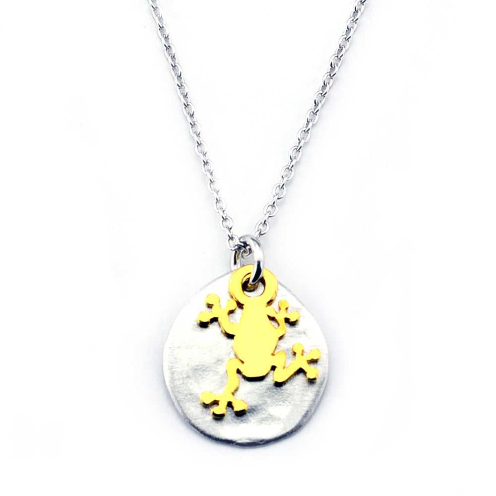 Frog Necklace-M20 - Kevin N Anna