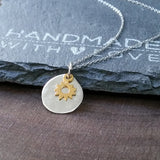 Sun Necklace-M28 - Kevin N Anna