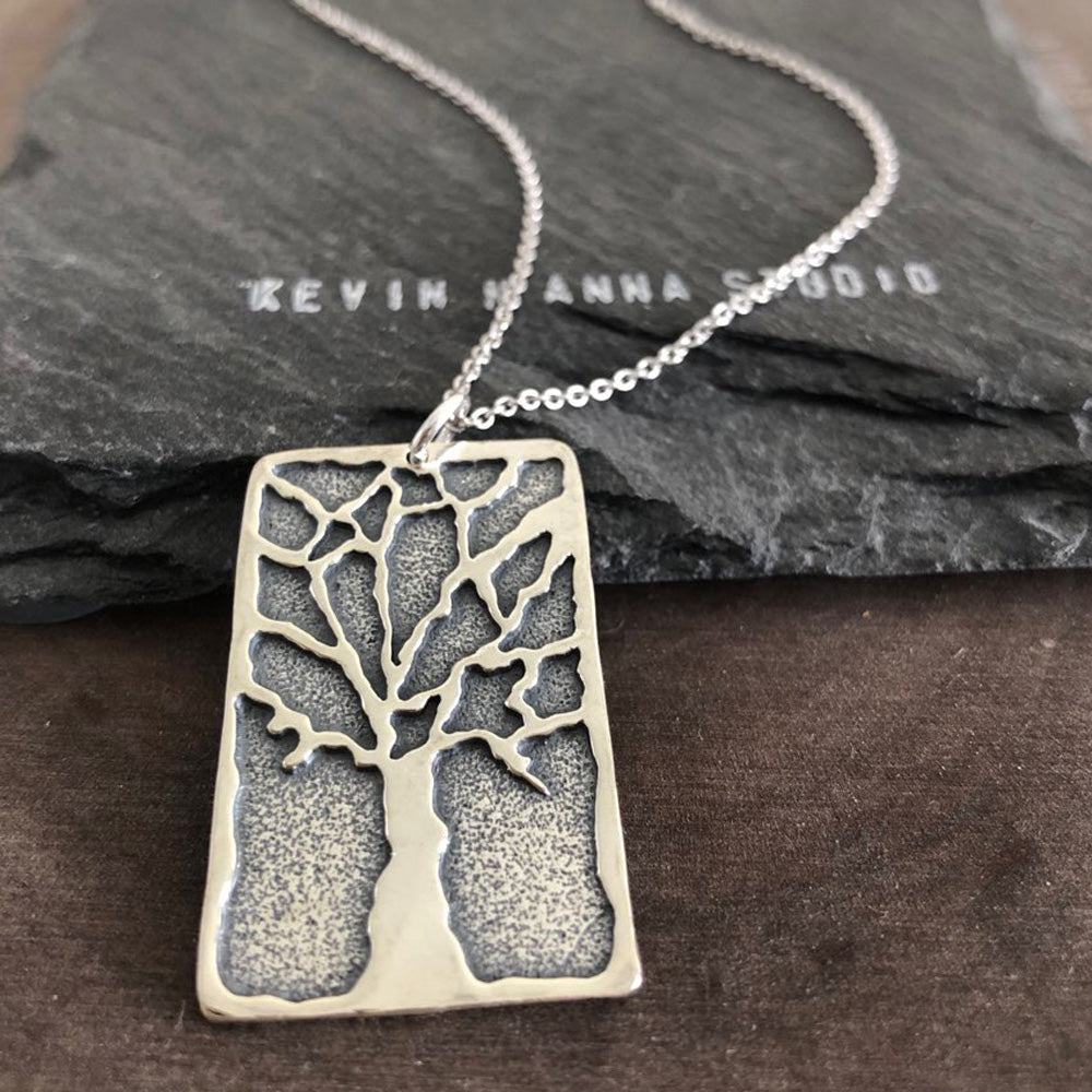 Tree Necklace-Large-S3029 - Kevin N Anna