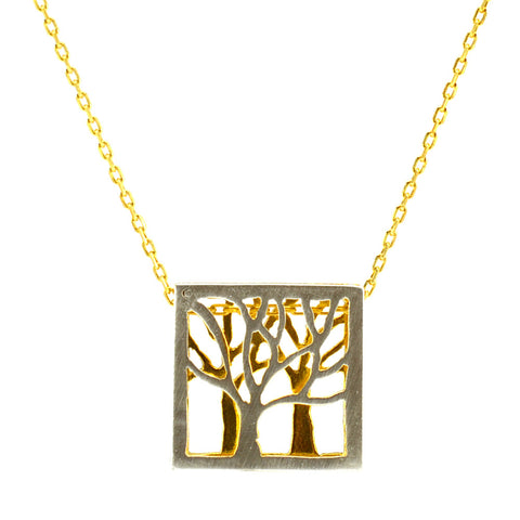 Tree Necklace -V53V54-P