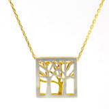 Tree Necklace -V53V54-G - Kevin N Anna
