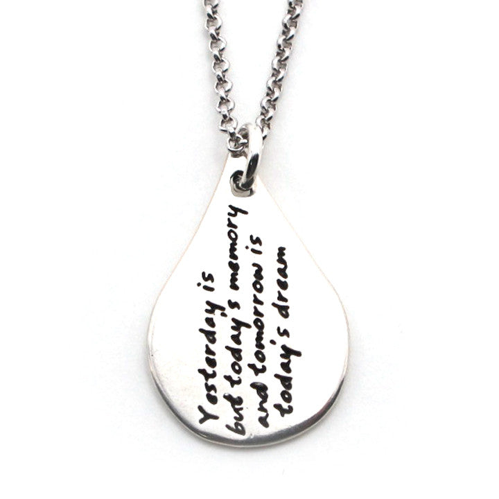 Khalil Gibran Quote Necklace-W03 - Kevin N Anna