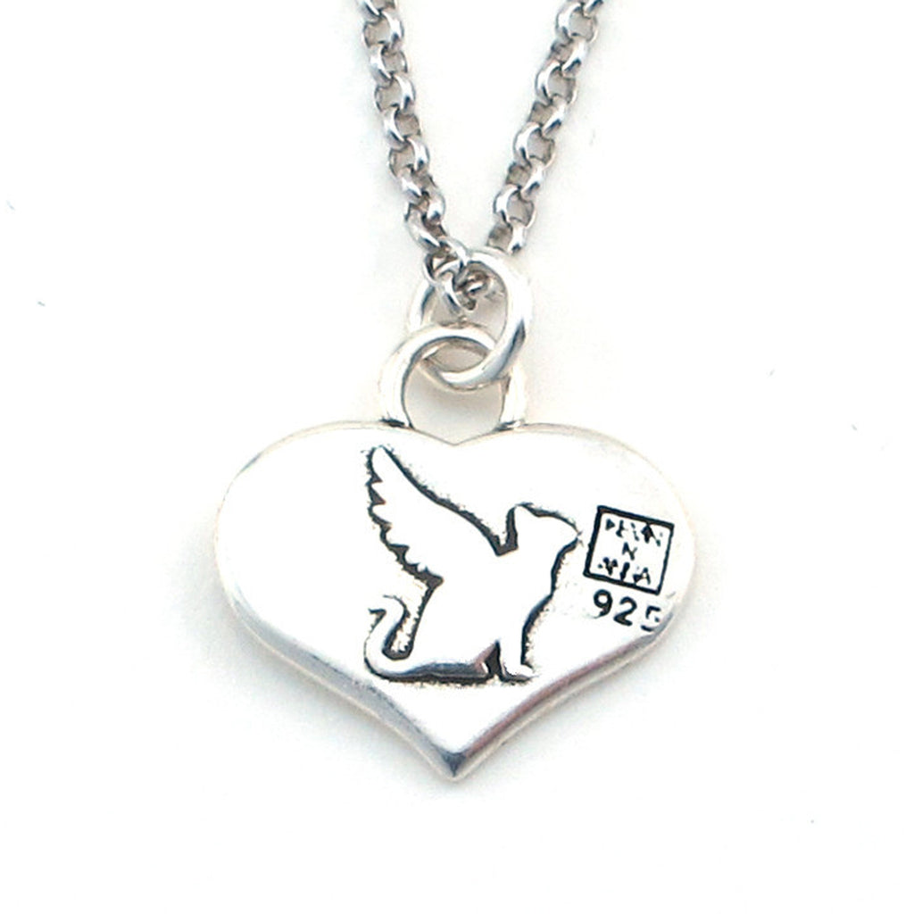 Angel Cat Necklace-W02 - Kevin N Anna