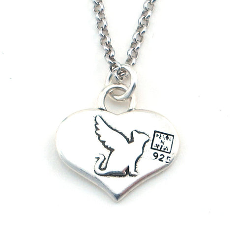 Love Quote Heart Shape Necklace-W05