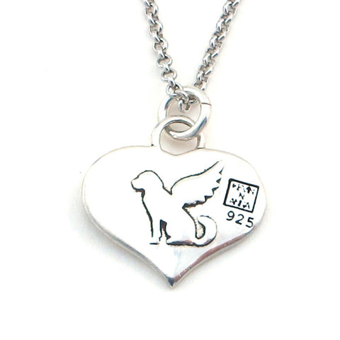 Angel Cat Necklace-W02