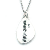 Strength Braille Necklace-B05 - Kevin N Anna