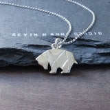Origami Bear Necklace-C40 - Kevin N Anna