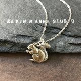 Squirrel Necklace-C68 - Kevin N Anna