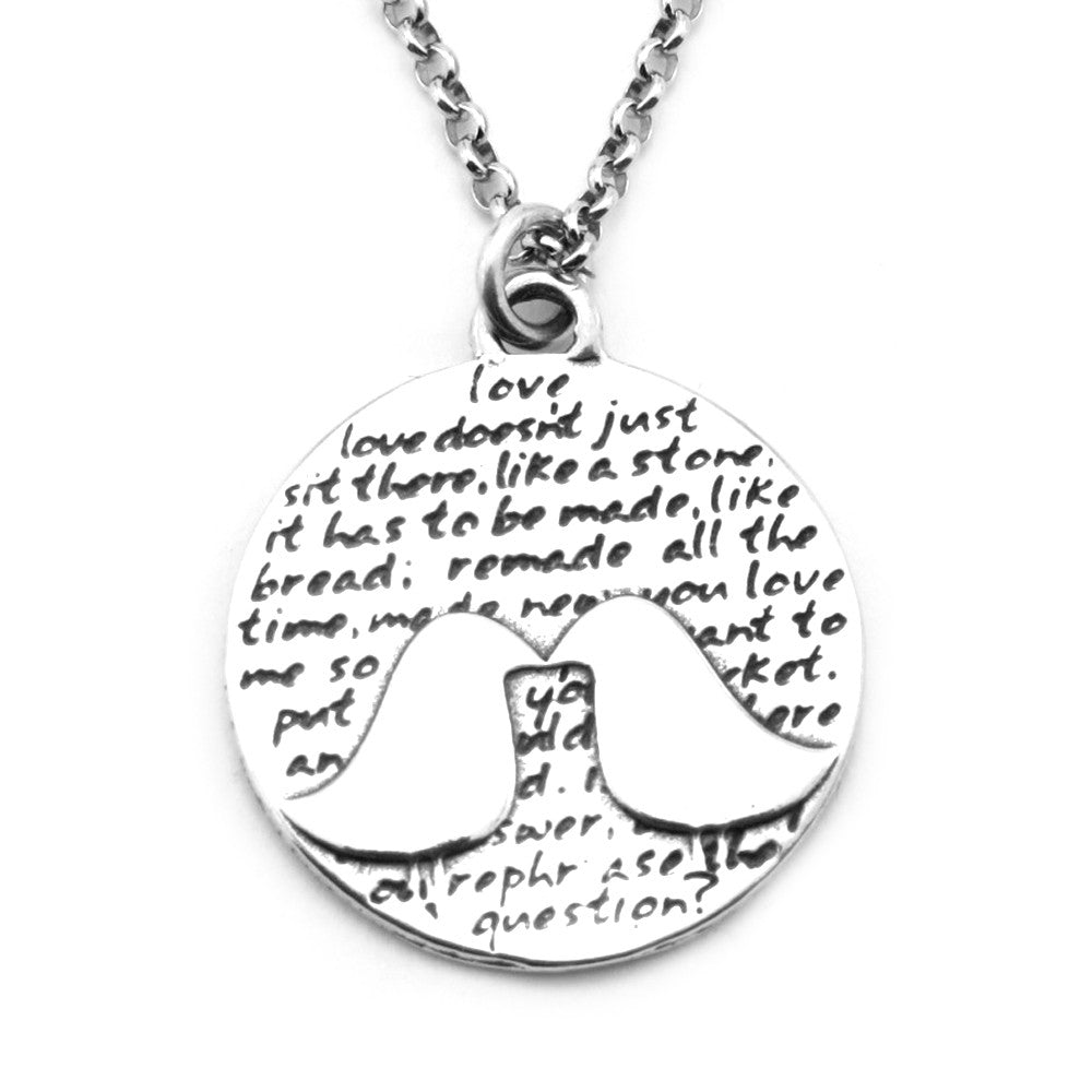 Kissing Birds Necklace (Love)-D06 - Kevin N Anna