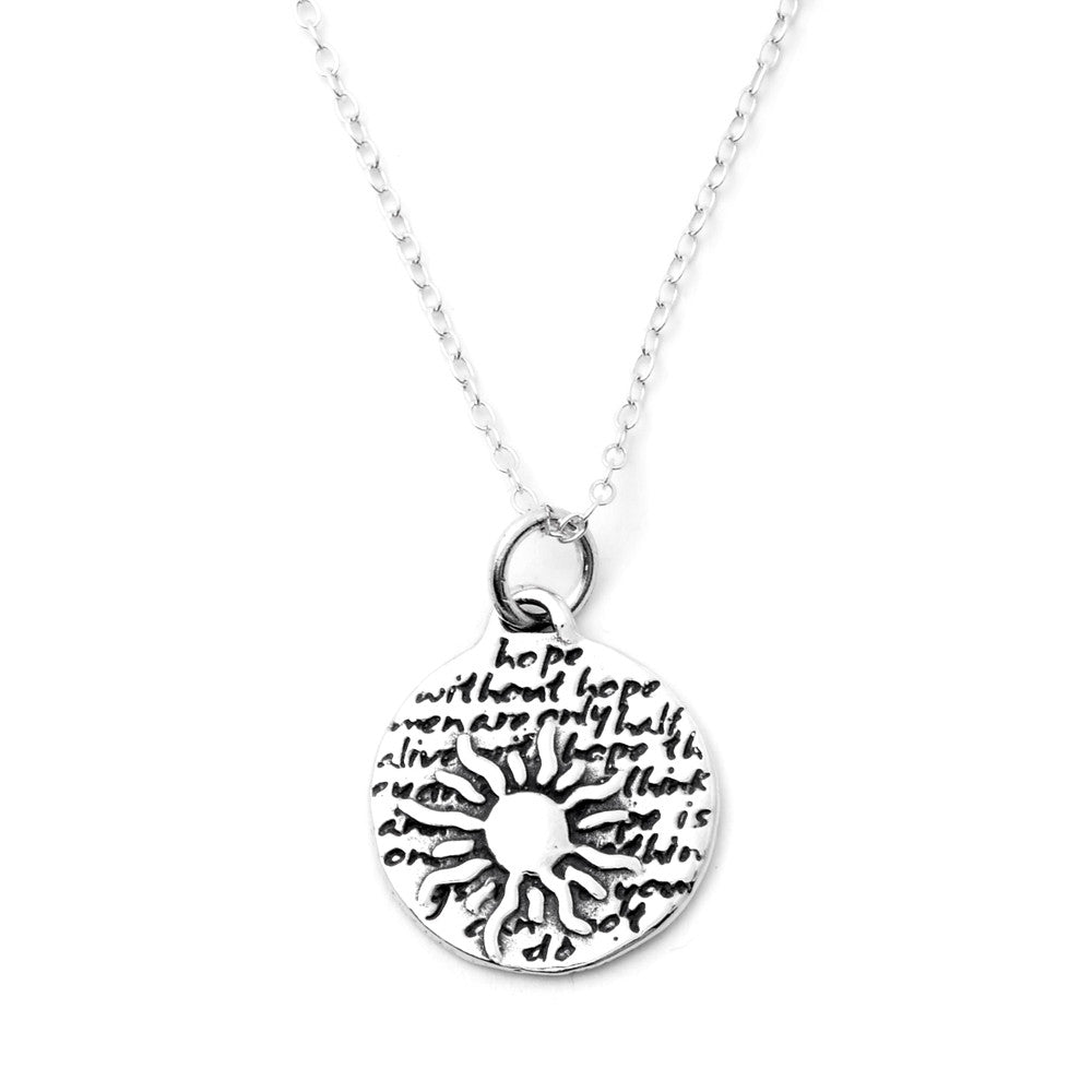 Sun Necklace (Hope)-D07SM - Kevin N Anna