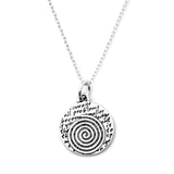 Spiral Necklace (Courage)-D09SM - Kevin N Anna