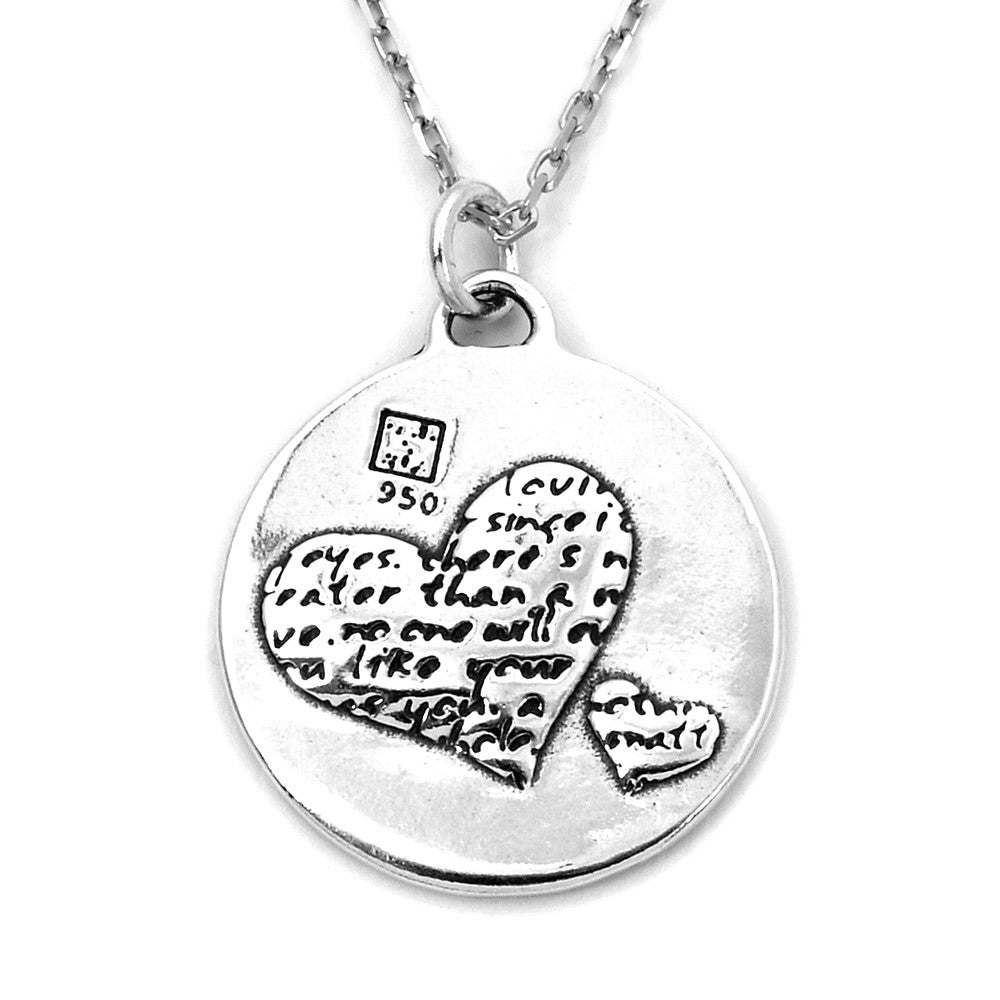 Two Hearts Necklace (Mother Love)-D101 - Kevin N Anna