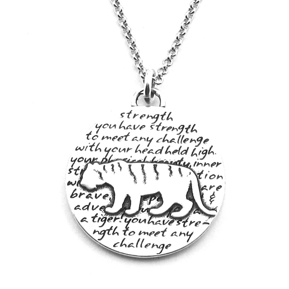 Tiger Necklace (Strength)-D105 - Kevin N Anna