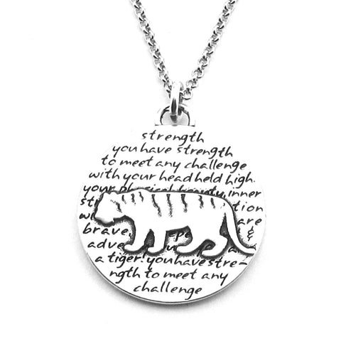 Raccoon Necklace (Curiosity)-D112SM