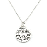 Tiger Necklace (Strength)-D105SM - Kevin N Anna