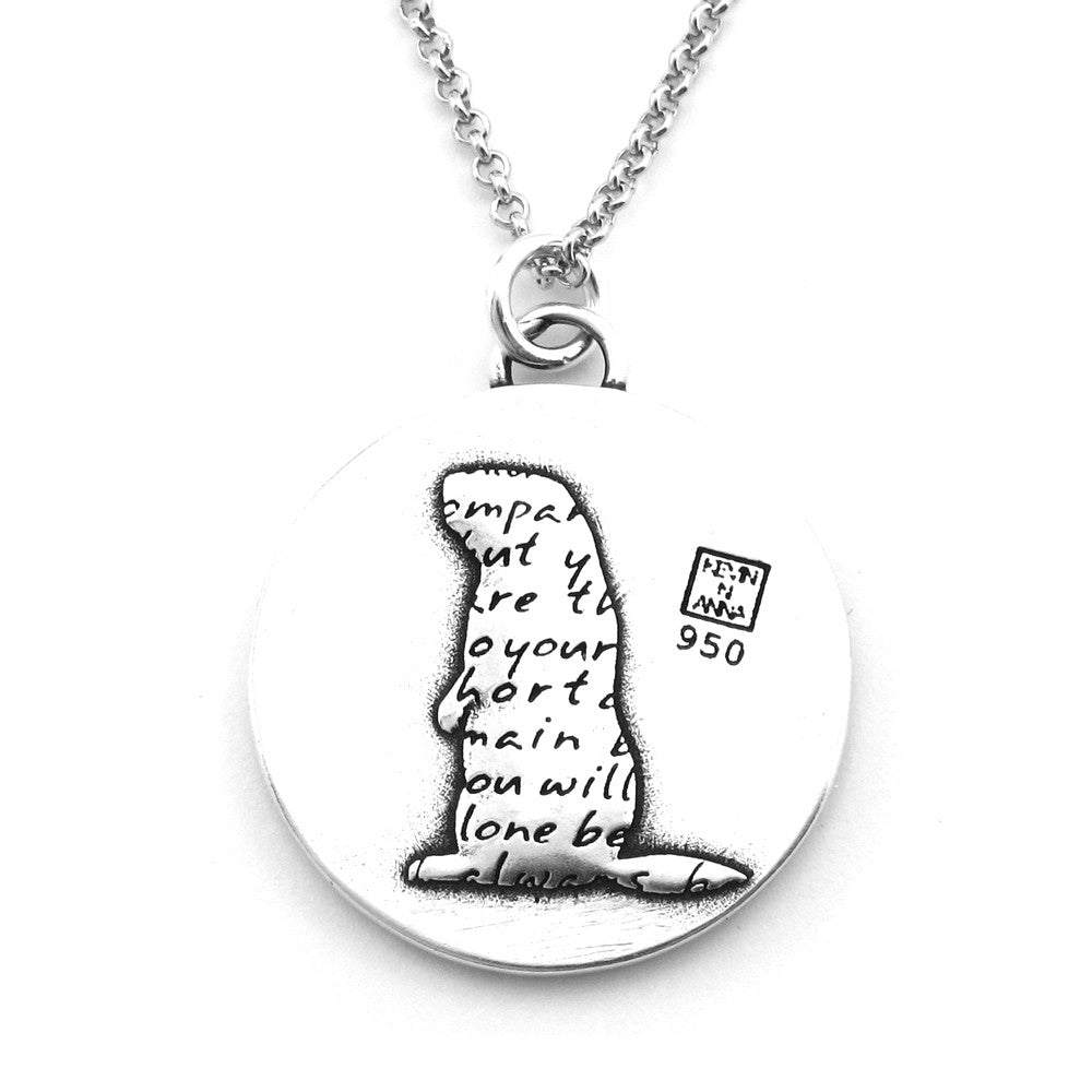 Otter Necklace (Companion)-D106 - Kevin N Anna