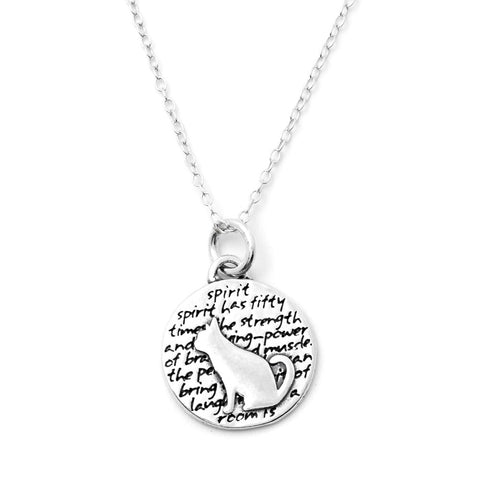 Dog Necklace (Trust)-D33SM