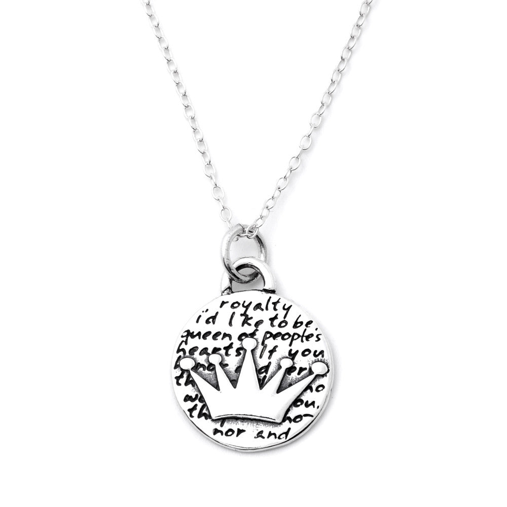 kay hover zm diamond accents young pendant zoom silver en necklace sterling crown mv to teen kaystore