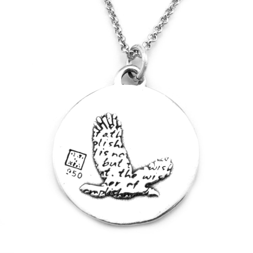 Eagle Necklace (Wish)-D35 - Kevin N Anna