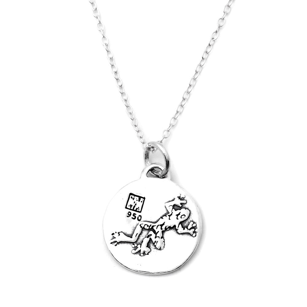 Frog Necklace (Healing)-D37SM - Kevin N Anna