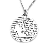Silhouette Necklace (Memory)-D39 - Kevin N Anna