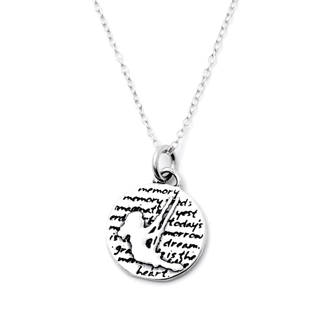 Silhouette Necklace (Memory)-D39SM - Kevin N Anna