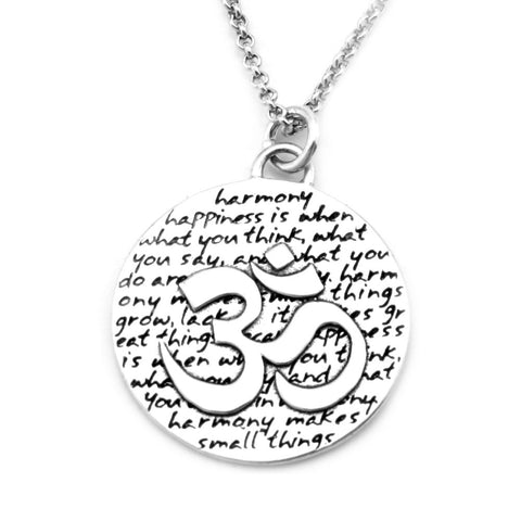 Lotus Necklace (Self-confidence)-D12
