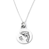 Dolphin Necklace (Joy)-D56SM - Kevin N Anna
