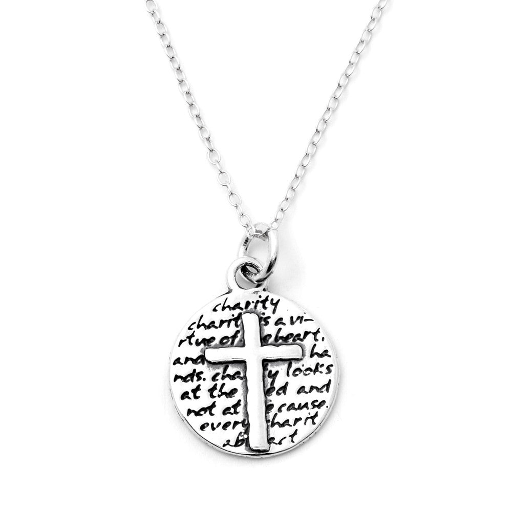 Cross Necklace (Charity)-D61SM - Kevin N Anna