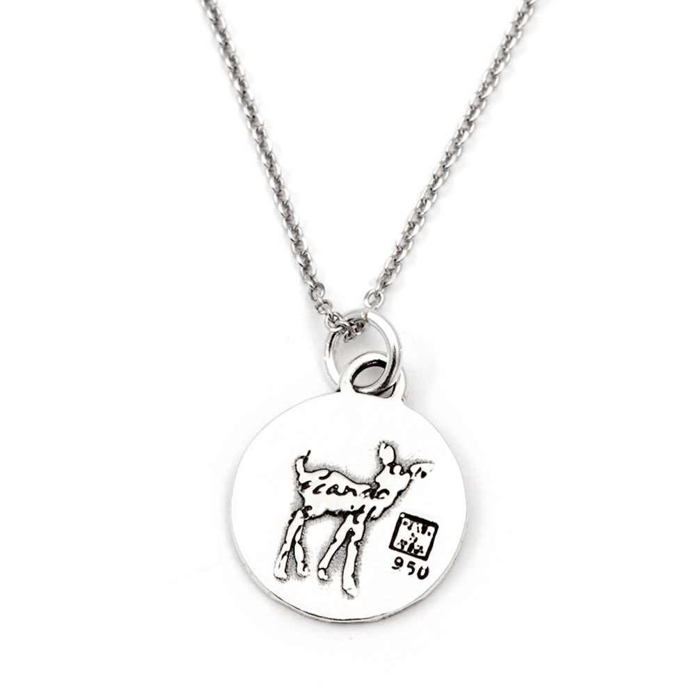 Deer Necklace (Love)-D71SM - Kevin N Anna