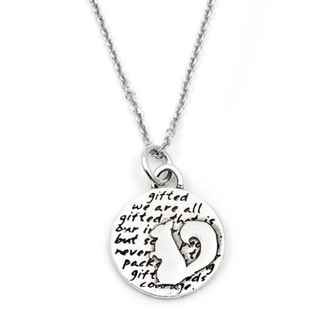 Heart Necklace (Love)-D40SM
