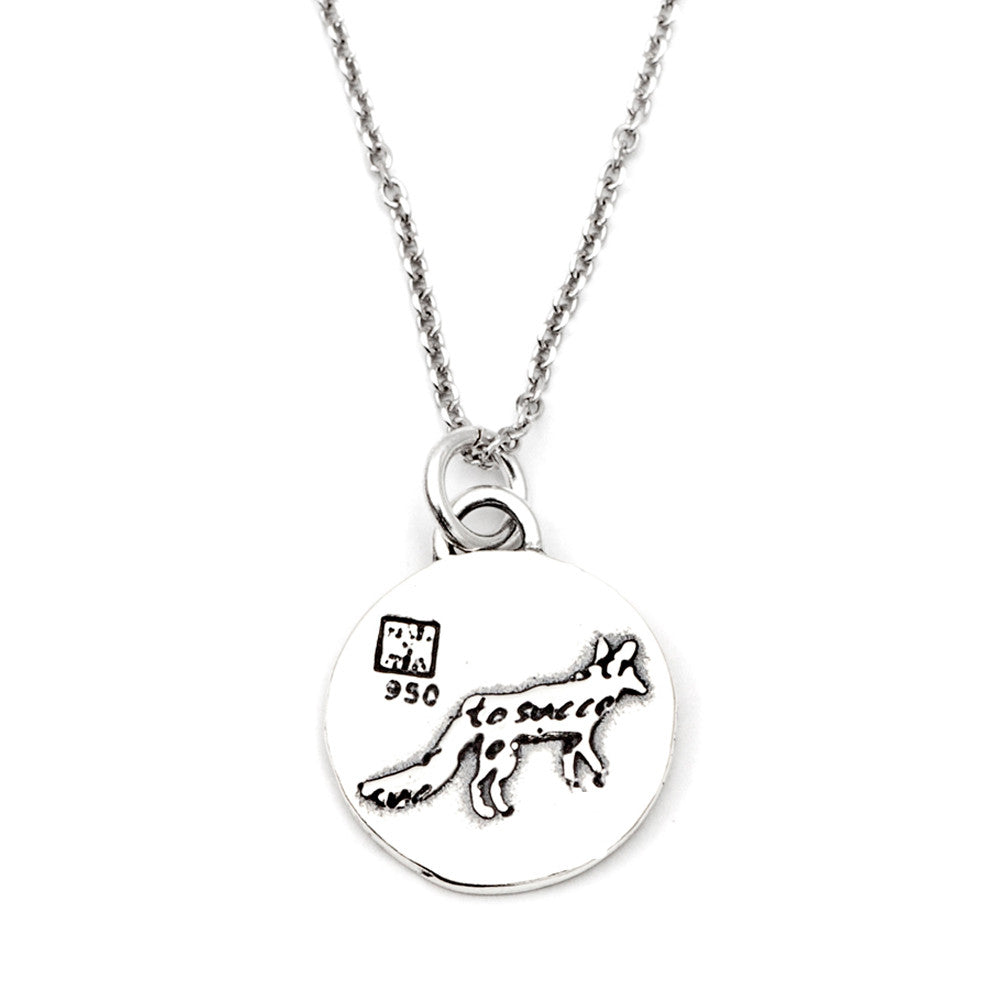 Fox Necklace (Desire)-D76SM - Kevin N Anna