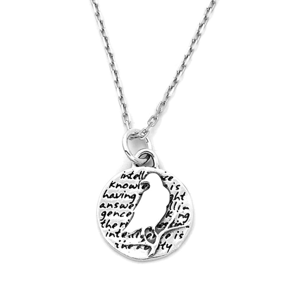 Raven Necklace (Intelligence)-D96SM - Kevin N Anna