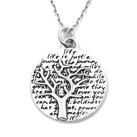 Tree Necklace (Tree of Life)-D41