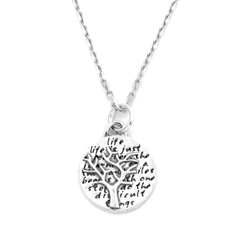 Tree Necklace (Tomorrow)-D03SM