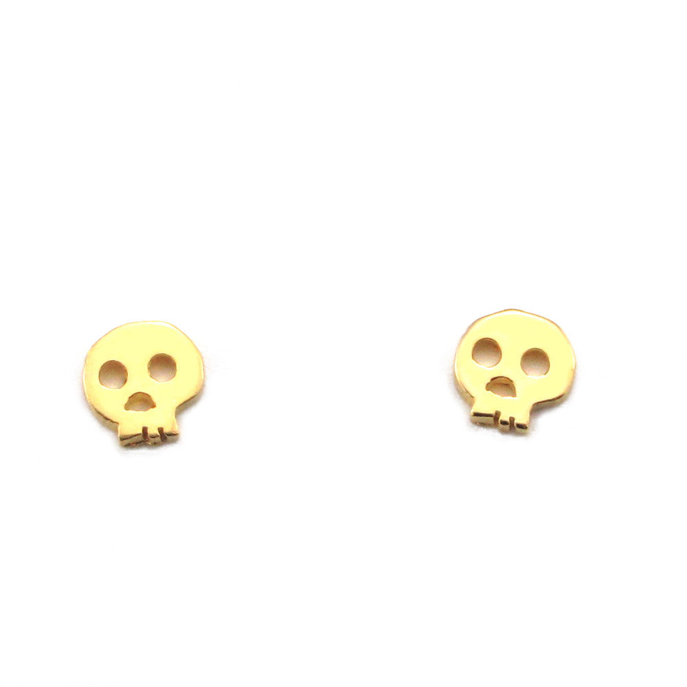 Skull Earrings-FT52 - Kevin N Anna