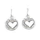 Heart Earrings (Love)-D40E - Kevin N Anna