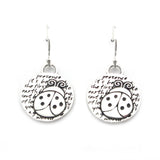 Ladybug Earrings (Presence)-D107E - Kevin N Anna